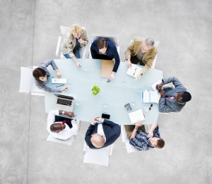 A small board meeting